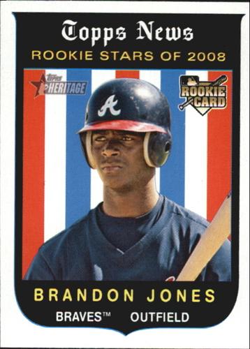 Photo of 2008 Topps Heritage #131 Brandon Jones RC
