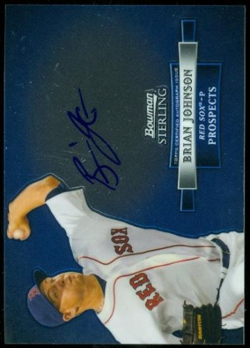 Photo of 2012 Bowman Sterling Prospect Autographs #BJ Brian Johnson