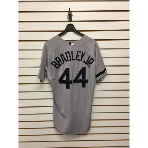 Photo of Jackie Bradley Jr Team-Issued 2013 Road Jersey