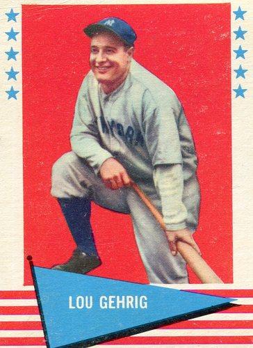 Photo of 1961 Fleer #31 Lou Gehrig