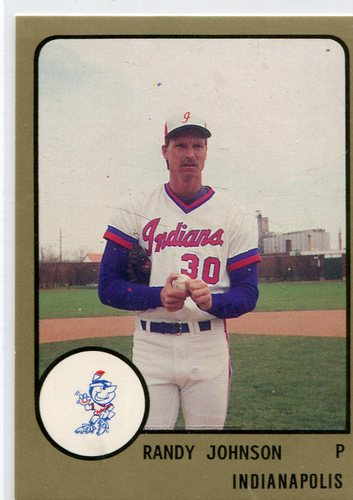 Photo of 1988 Indianapolis Indians ProCards #510 Randy Johnson