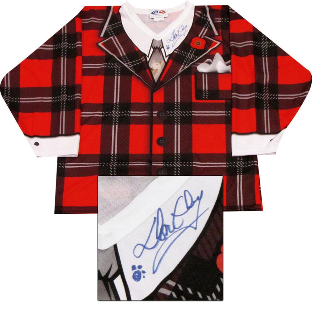 Don Cherry Autographed Commemorative Hockey Jersey (Boston Bruins)