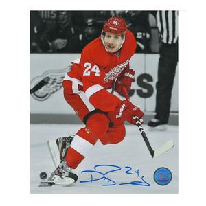 DAMIEN BRUNNER Signed Detroit Red Wings 8 X 10 Photo - 70029