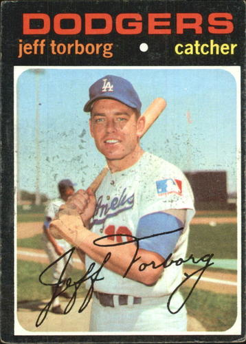 Photo of 1971 Topps #314 Jeff Torborg
