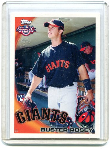 Photo of 2010 Topps Opening Day #207 Buster Posey RC