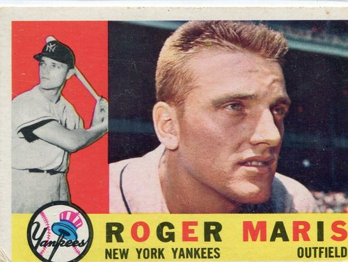 Photo of 1960 Topps #377 Roger Maris