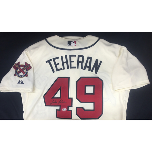 Photo of Braves Charity Auction - Julio Teheran Autographed Jersey
