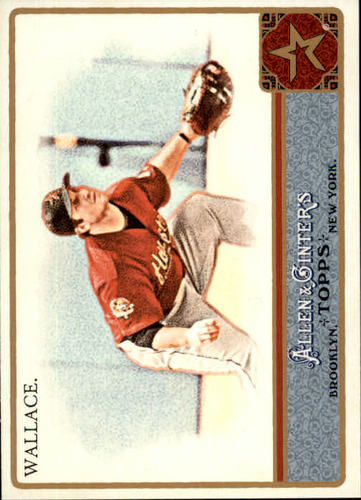 Photo of 2011 Topps Allen and Ginter #318 Brett Wallace SP