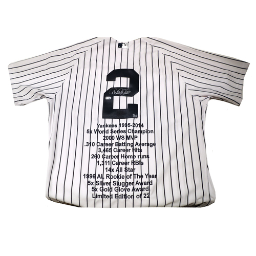 Compton Youth Academy Auction: Derek Jeter Signed Jersey