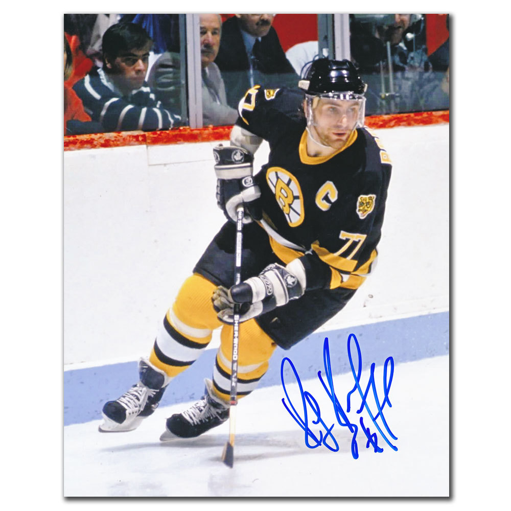 Ray Bourque Boston Bruins RUSH Autographed 8x10