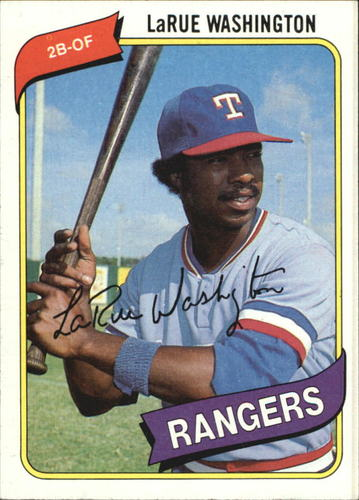 Photo of 1980 Topps #233 LaRue Washington RC