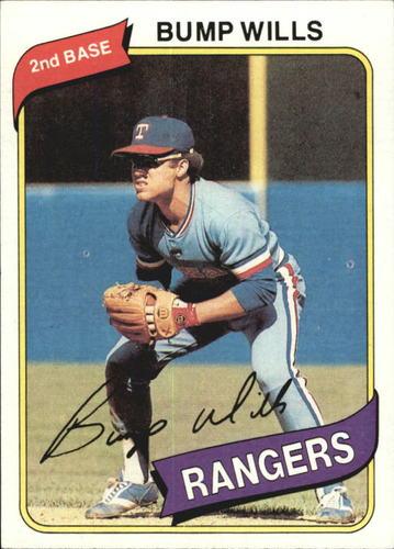 Photo of 1980 Topps #473 Bump Wills