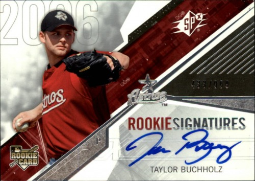 Photo of 2006 SPx #159 Taylor Buchholz AU/999 (RC)