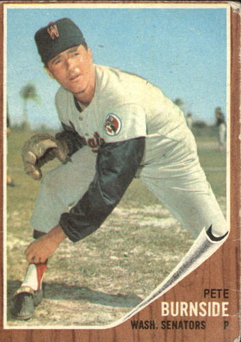 Photo of 1962 Topps #207 Pete Burnside