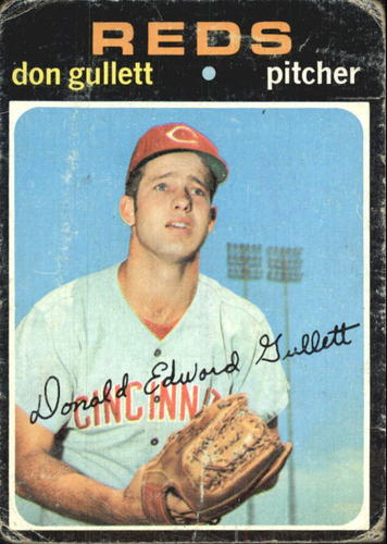 Photo of 1971 Topps #124 Don Gullett RC