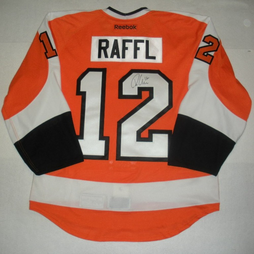 Michael Raffl - 2014 Philadelphia Flyers Wives Carnival - Autographed Event-Worn Jersey
