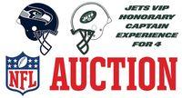 NY Jets - VIP Honorary Captain Experience for 4 vs. Seattle 10/2/2016