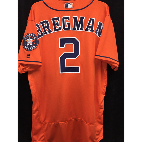 Photo of Team-Issued 2016 Alex Bregman Los Astros Jersey