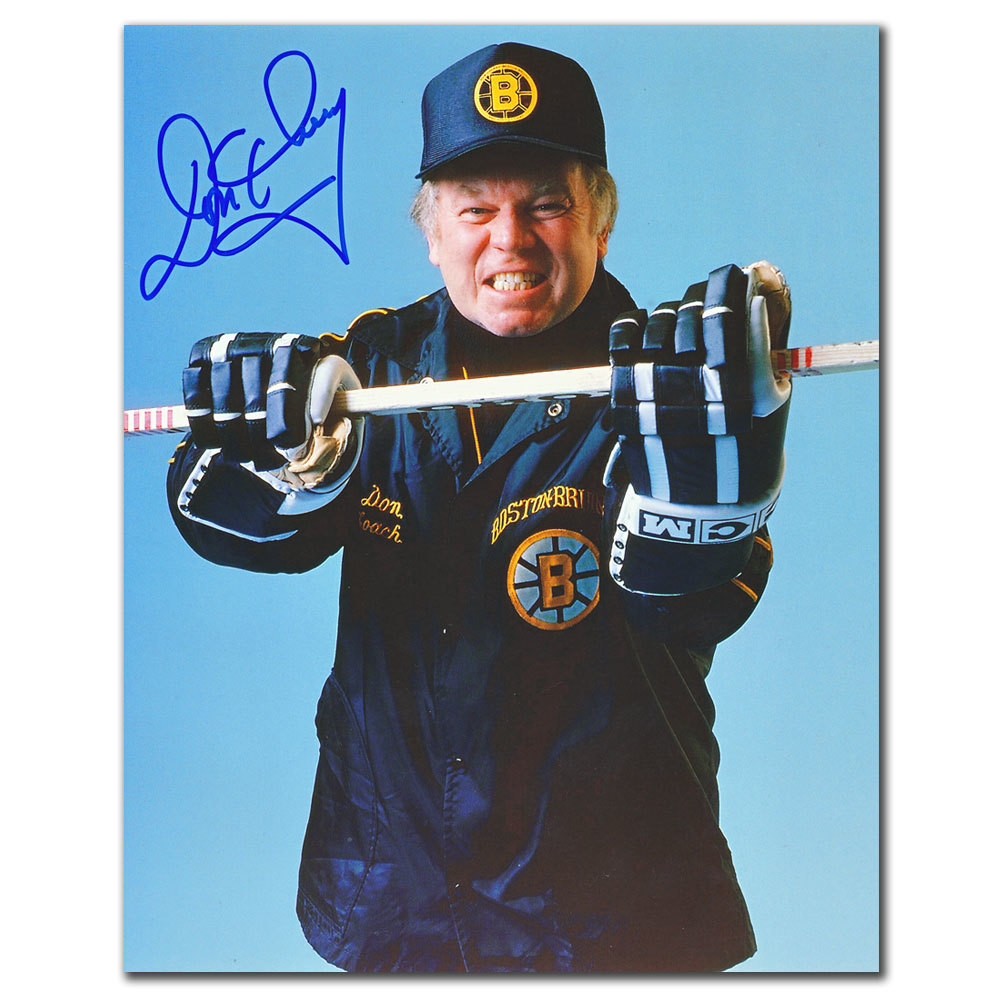 Don Cherry Boston Bruins COACH Autographed 8x10