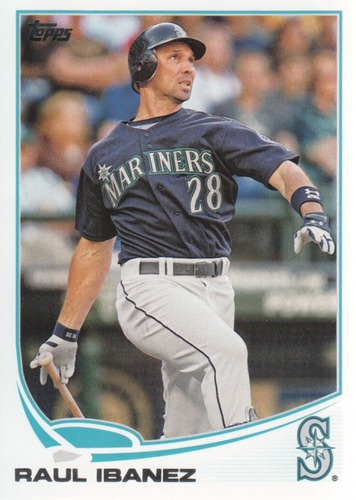 Photo of 2013 Topps #452 Raul Ibanez