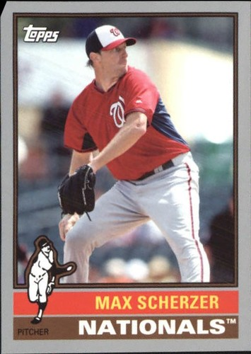 Photo of 2015 Topps Archives Silver #166 Max Scherzer