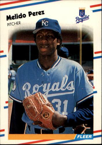 Photo of 1988 Fleer #265 Melido Perez RC
