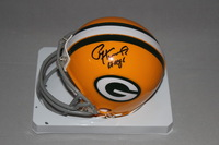 HOF - PACKERS PAUL HORNUNG SIGNED PACKERS MINI HELMET
