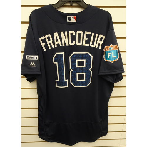 Photo of Jeff Francoeur 2016 Game-Used Spring Training Jersey