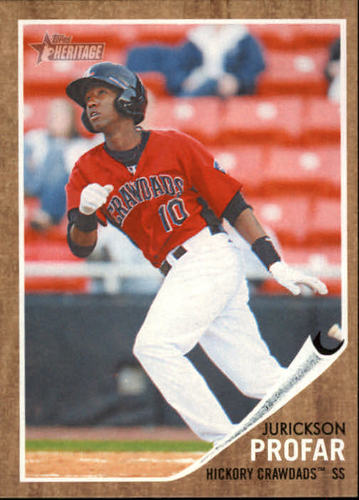 Photo of 2011 Topps Heritage Minors #189 Jurickson Profar