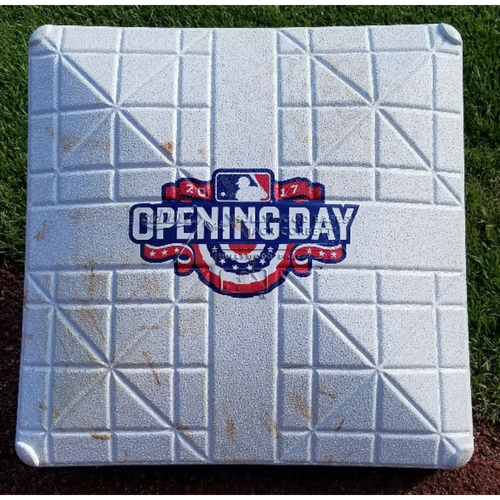 Photo of 2017 Opening Day Game-Used 3rd Base