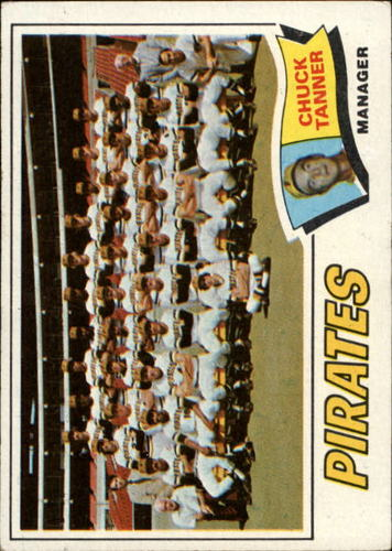 Photo of 1977 Topps #354 Pittsburgh Pirates CL/Chuck Tanner MG