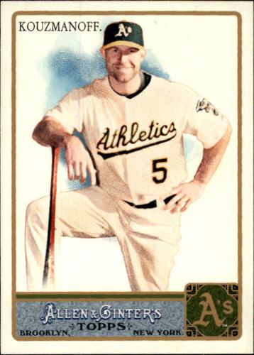 Photo of 2011 Topps Allen and Ginter #336 Kevin Kouzmanoff SP