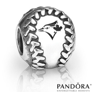 Toronto Blue Jays Baseball Charm by PANDORA® Jewellery