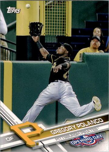 Photo of 2017 Topps Opening Day #157 Gregory Polanco