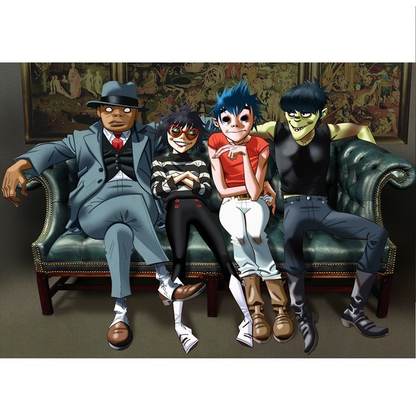 Click to view Gorillaz Concert Tickets + Backstage Tour.