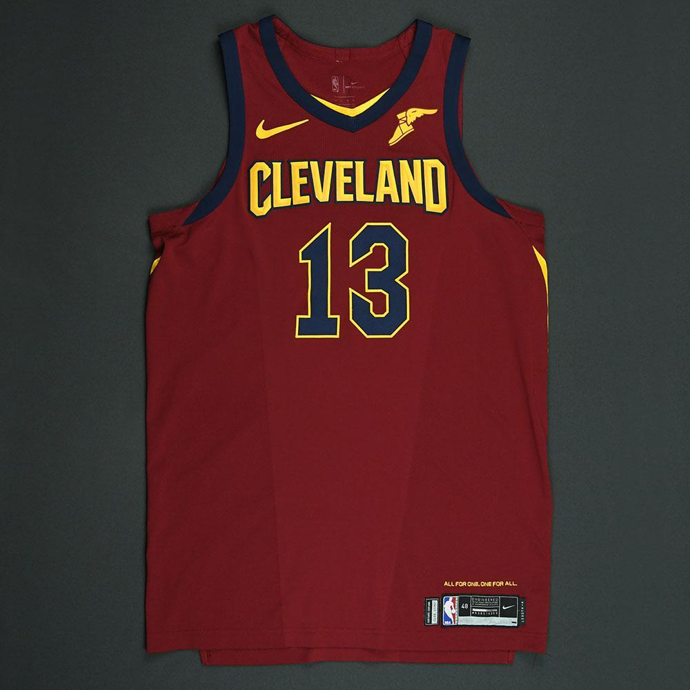 Tristan Thompson - Cleveland Cavaliers - 2018 NBA Playoffs Game-Worn Jersey - Worn in 3 Games