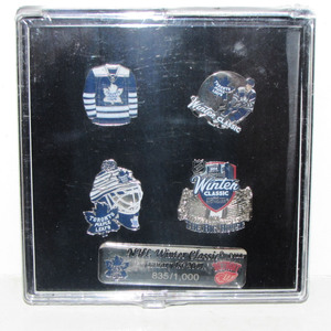 Toronto Maple Leafs Limited-Edition 2014 Winter Classic Pin Set