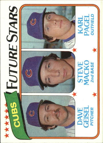 Photo of 1980 Topps #676 Dave Geisel/Steve Macko RC/Karl Pagel