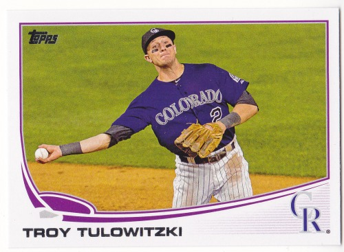 Photo of 2013 Topps #453 Troy Tulowitzki