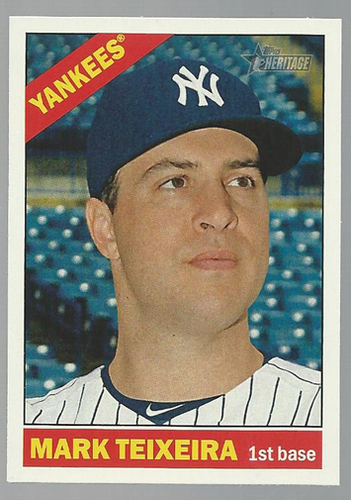 Photo of 2015 Topps Heritage #21 Mark Teixeira