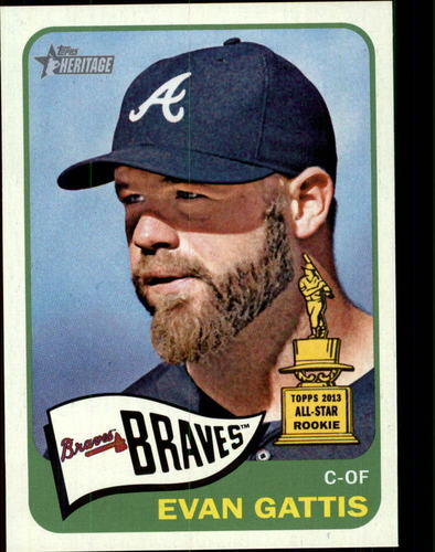 Photo of 2014 Topps Heritage #279 Evan Gattis