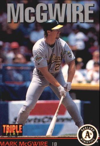 Photo of 1993 Triple Play #87 Mark McGwire