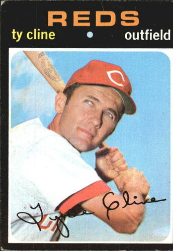 Photo of 1971 Topps #319 Ty Cline