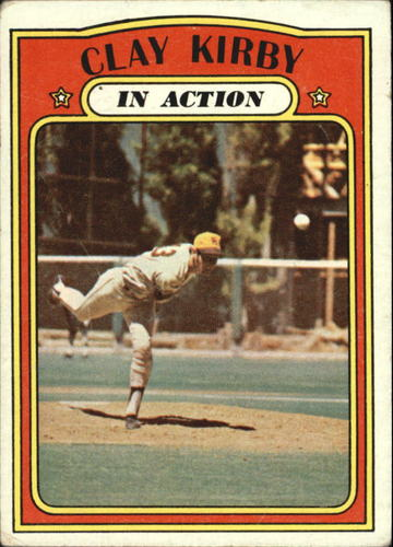 Photo of 1972 Topps #174 Clay Kirby IA