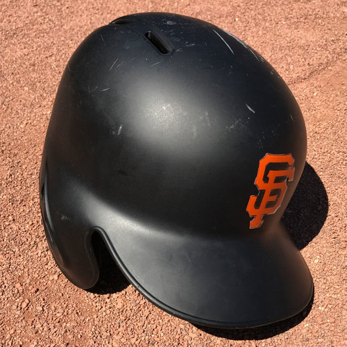 Photo of San Francisco Giants - Game-Used Helmet - Brandon Crawford