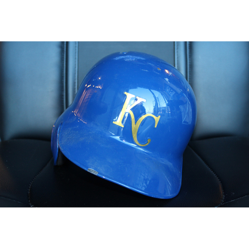 Photo of Team-Issued Helmet: Mike Moustakas (Size 7 1/2)