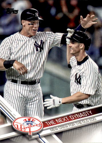 Photo of 2017 Topps Update #US148 The Next Dynasty/Aaron Judge/Greg Bird