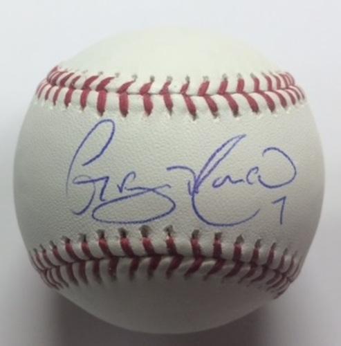 Photo of Gregor Blanco Autographed Baseball