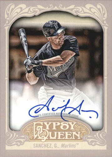 Photo of 2012 Topps Gypsy Queen Autographs #GS Gaby Sanchez
