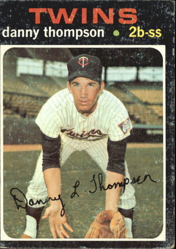 Photo of 1971 Topps #127 Danny Thompson RC